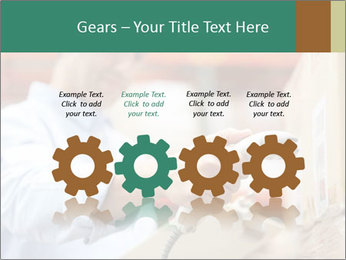 Worker Scanning Package PowerPoint Templates - Slide 48