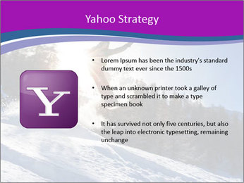 Snowboarder jumping PowerPoint Templates - Slide 11