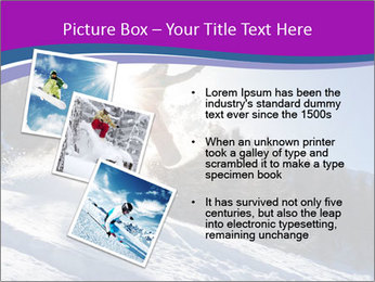 Snowboarder jumping PowerPoint Templates - Slide 17