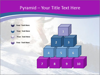 Snowboarder jumping PowerPoint Templates - Slide 31