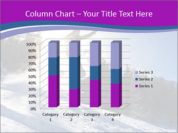 Snowboarder jumping PowerPoint Templates - Slide 50