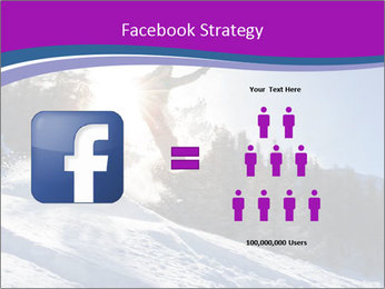 Snowboarder jumping PowerPoint Templates - Slide 7