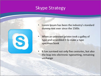 Snowboarder jumping PowerPoint Templates - Slide 8