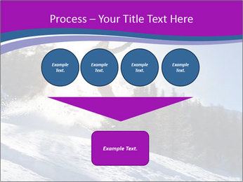 Snowboarder jumping PowerPoint Templates - Slide 93