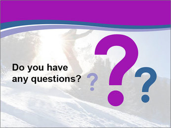 Snowboarder jumping PowerPoint Templates - Slide 96