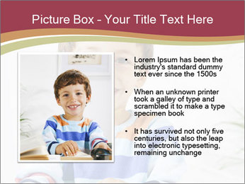 Little boy with a books PowerPoint Templates - Slide 13