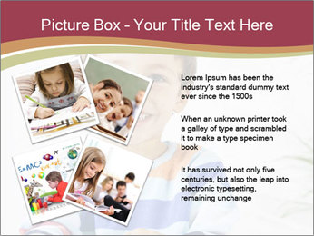 Little boy with a books PowerPoint Templates - Slide 23