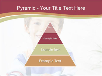 Little boy with a books PowerPoint Templates - Slide 30