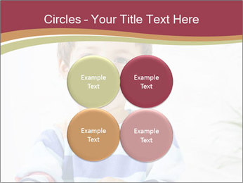 Little boy with a books PowerPoint Templates - Slide 38