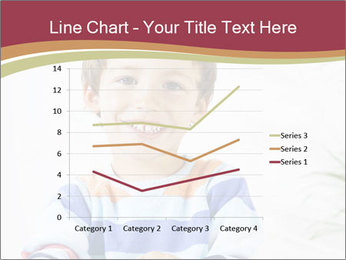 Little boy with a books PowerPoint Templates - Slide 54