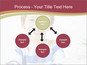 Little boy with a books PowerPoint Templates - Slide 91