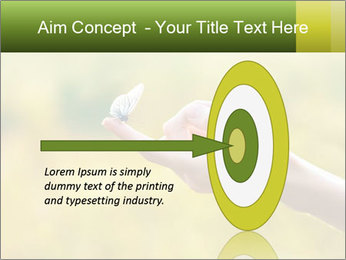 Butterfly PowerPoint Template - Slide 83
