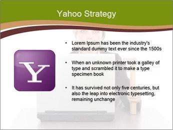 Serious businesswoman PowerPoint Template - Slide 11