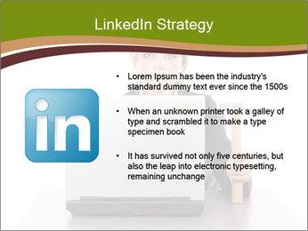 Serious businesswoman PowerPoint Template - Slide 12