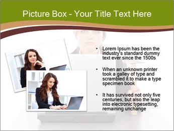 Serious businesswoman PowerPoint Template - Slide 20