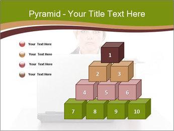 Serious businesswoman PowerPoint Template - Slide 31