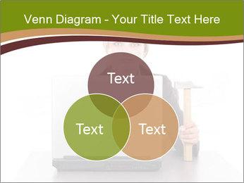 Serious businesswoman PowerPoint Template - Slide 33