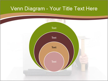 Serious businesswoman PowerPoint Template - Slide 34