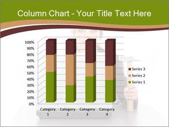 Serious businesswoman PowerPoint Template - Slide 50