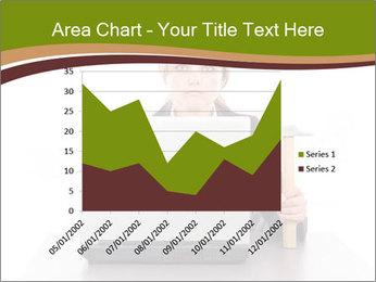 Serious businesswoman PowerPoint Template - Slide 53