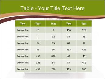 Serious businesswoman PowerPoint Template - Slide 55