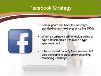Serious businesswoman PowerPoint Template - Slide 6