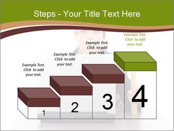 Serious businesswoman PowerPoint Template - Slide 64