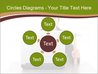 Serious businesswoman PowerPoint Template - Slide 78
