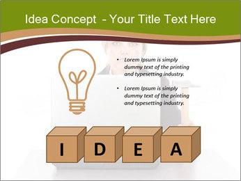 Serious businesswoman PowerPoint Template - Slide 80