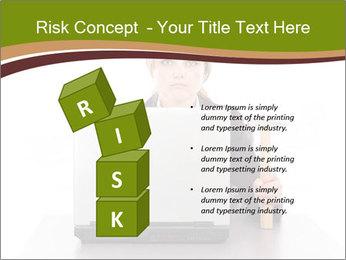 Serious businesswoman PowerPoint Template - Slide 81