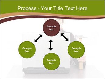 Serious businesswoman PowerPoint Template - Slide 91
