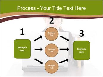 Serious businesswoman PowerPoint Template - Slide 92