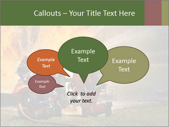 Firefighters PowerPoint Templates - Slide 73