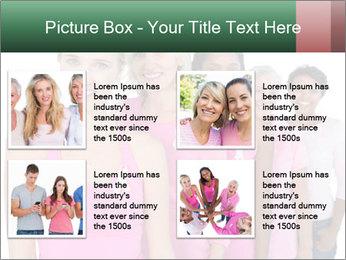 Smiling women PowerPoint Template - Slide 14