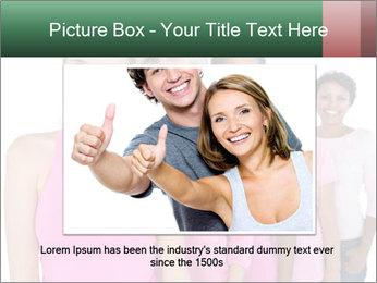 Smiling women PowerPoint Template - Slide 15