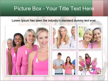 Smiling women PowerPoint Template - Slide 19