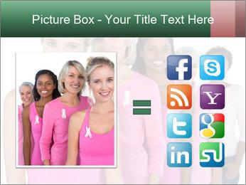 Smiling women PowerPoint Template - Slide 21