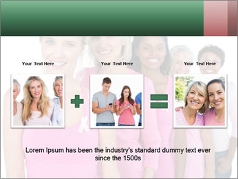 Smiling women PowerPoint Template - Slide 22