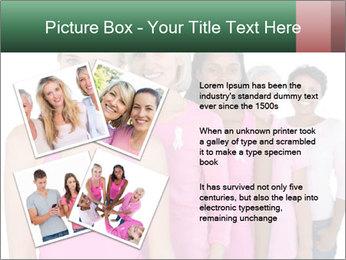 Smiling women PowerPoint Template - Slide 23