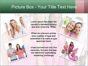Smiling women PowerPoint Template - Slide 24