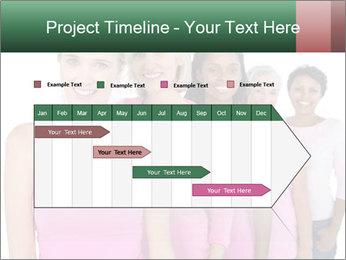 Smiling women PowerPoint Template - Slide 25