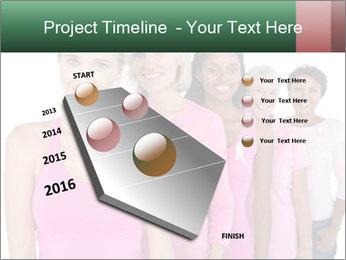Smiling women PowerPoint Template - Slide 26
