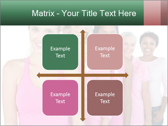 Smiling women PowerPoint Template - Slide 37