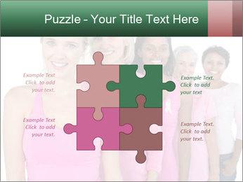 Smiling women PowerPoint Template - Slide 43