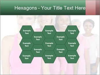 Smiling women PowerPoint Template - Slide 44