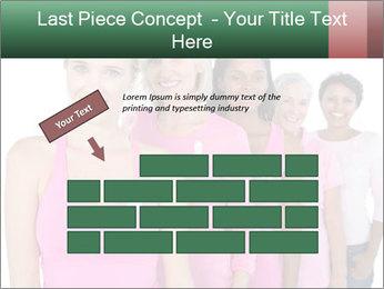 Smiling women PowerPoint Template - Slide 46