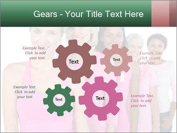 Smiling women PowerPoint Template - Slide 47