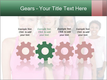 Smiling women PowerPoint Template - Slide 48