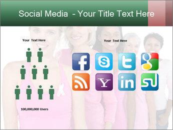 Smiling women PowerPoint Template - Slide 5