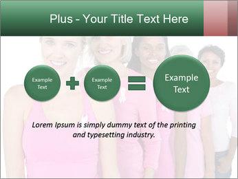 Smiling women PowerPoint Template - Slide 75